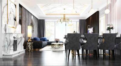 Xu hướng tôn vinh thiên nhiên trong thiết kế nội thất dòng căn hộ cao cấp
